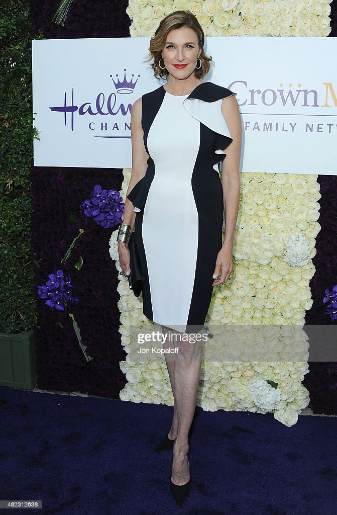Actress Brenda Strong arrives at 2015 Summer TCA Tour - Hallmark Channel and Hallmark Movies And Mysteries on July 29, 2015 in Beverly Hills, California.