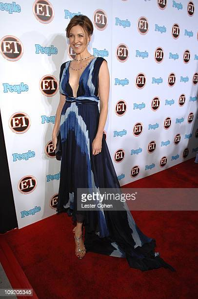 Actress Brenda Strong arrives at the 4th Annual ENTERTAINMENT TONIGHT Emmy Party Sponsored By PEOPLE at the Walt Disney Concert Hall on September 16...