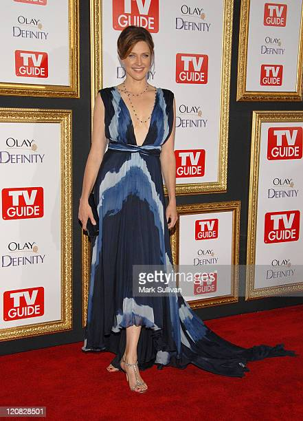 Actress Brenda Strong arrives at the The 59th Primetime EMMY Awards TV Guide After Party at Les Deux on September 16, 2007 in Hollywood, California.