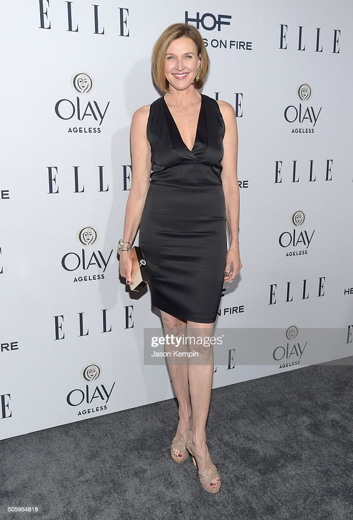 Actress Brenda Strong attends ELLE's 6th Annual Women In Television Dinner at Sunset Tower Hotel on January 20, 2016 in West Hollywood, California.
