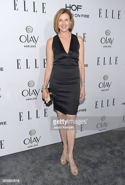 Actress Brenda Strong attends ELLE's 6th Annual Women In Television Dinner at Sunset Tower Hotel on January 20 2016 in West Hollywood California