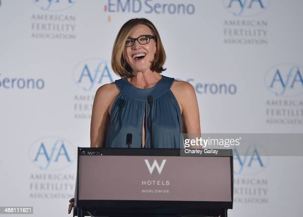 Actress Brenda Strong attends the American Fertility Association's Illuminations LA at W Hollywood on May 3 2014 in Hollywood California