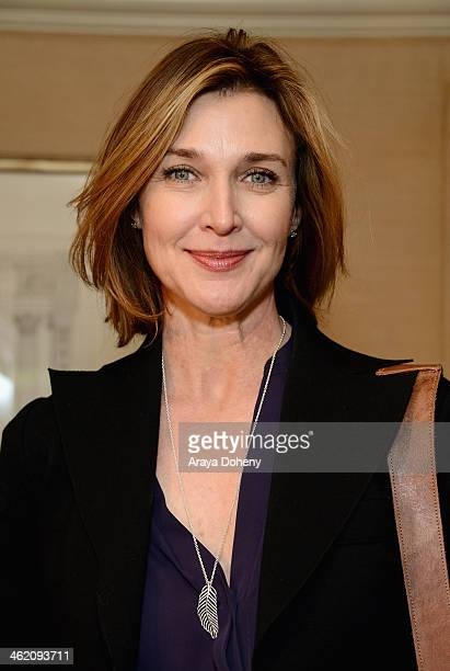 Actress Brenda Strong attends the HBO Luxury Lounge featuring PANDORA Jewelry at Four Seasons Hotel Los Angeles at Beverly Hills on January 12 2014...