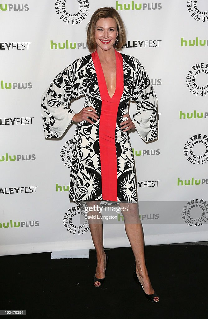 Actress Brenda Strong attends The Paley Center For Media's PaleyFest 2013 honoring 'Dallas' at the Saban Theatre on March 10, 2013 in Beverly Hills, California.