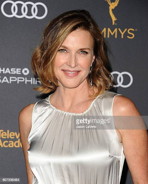 Actress Brenda Strong attends the Television Academy reception for Emmy nominated performers at Pacific Design Center on September 16 2016 in West...