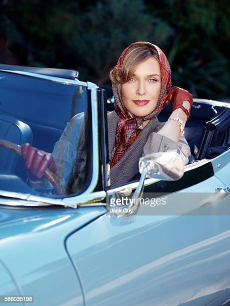 Actress Brenda Strong is photographed on October 14, 2005 in Los Angeles, California.