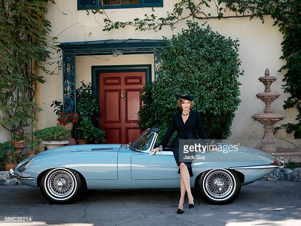 Actress Brenda Strong is photographed on October 14 2005 in Los Angeles California