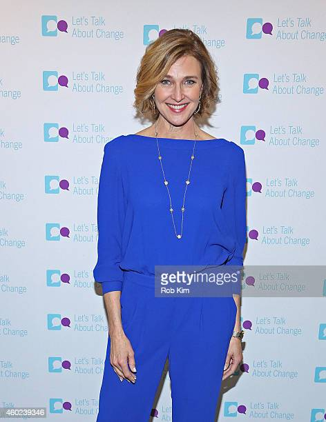 Actress Brenda Strong teams up with Pfizer to create a short video as part of the Let's Talk About Change campaign on December 10 2014