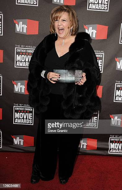 Actress Brenda Vaccaro arrives at the 16th Annual Critics' Choice Movie Awards at the Hollywood Palladium on January 14 2011 in Los Angeles California