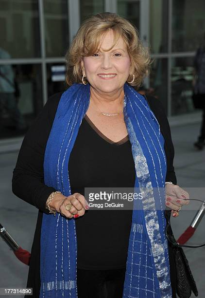 Actress Brenda Vaccaro arrives at the Los Angeles premiere of The Grandmaster at ArcLight Cinemas on August 22 2013 in Hollywood California