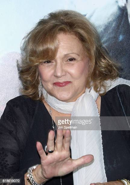 Actress Brenda Vaccaro attends the DUNKIRK New York premiere at AMC Lincoln Square IMAX on July 18 2017 in New York City