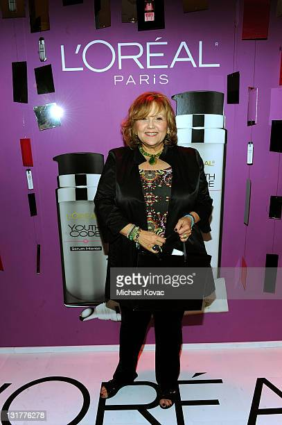 Actress Brenda Vaccaro attends the HBO Luxury Lounge in honor of the 68th Annual Golden Globe Awards at The Four Seasons Hotel on January 15 2011 in...