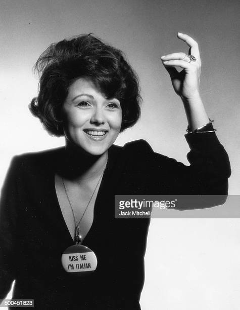 Actress Brenda Vaccaro photographed in New York City in 1973