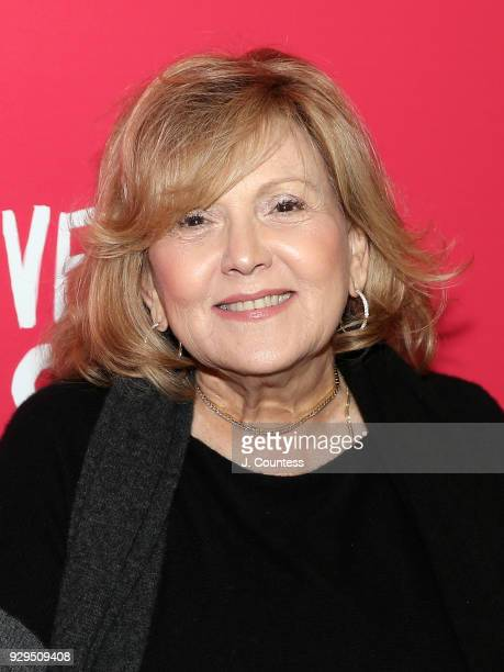 Actress Brenda Vaccaro poses for a photo at the screening of 'Love Simon' hosted by 20th Century Fox Wingman at The Landmark at 57 West on March 8...
