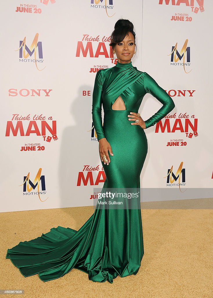 Actress Brenda Vivian arrives for the premiere of 'Think Like A Man Too' at TCL Chinese Theatre on June 9, 2014 in Hollywood, California.