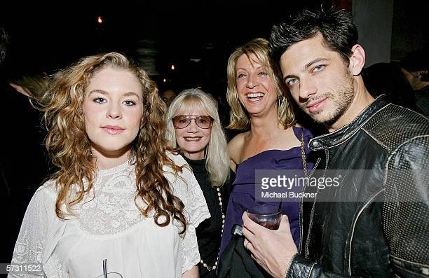 Actress Brennan Hesser agent Erin Connor actress Jeannetta Arnette and actor James Carpinello attend the VH1 So noTORIous Screening Party at Jimmy's...