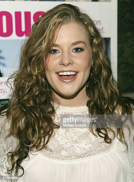 Actress Brennan Hesser attends the VH1 So noTORIous Screening Party at Jimmy's Lounge on March 28 2006 in Hollywood California
