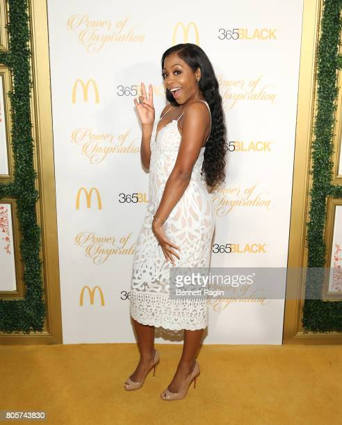 Actress Bresha Webb attends the 14th Annual McDonald's 365Black Awards at The RitzCarlton New Orleans on July 2 2017 in New Orleans Louisiana