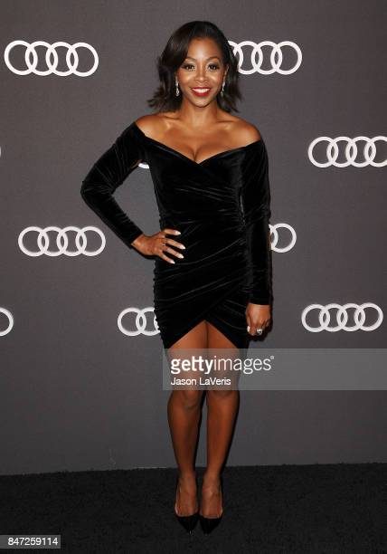 Actress Bresha Webb attends the Audi celebration for the 69th Emmys at The Highlight Room at the Dream Hollywood on September 14 2017 in Hollywood...