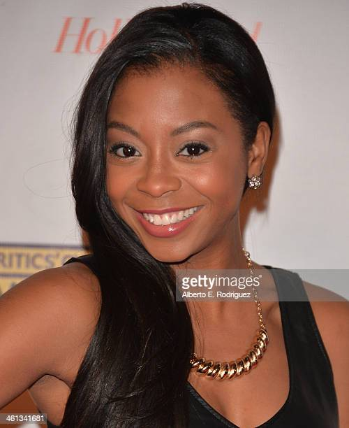 Actress Bresha Webb attends the Broadcast Film Critics Association's Celebration of Black Cinema at the House of Blues Sunset Strip on January 7 2014...