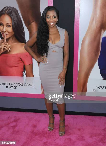 Actress Bresha Webb attends the Premiere of Universal Pictures' 'Girls Trip' at Regal LA Live Stadium 14 on July 13 2017 in Los Angeles California