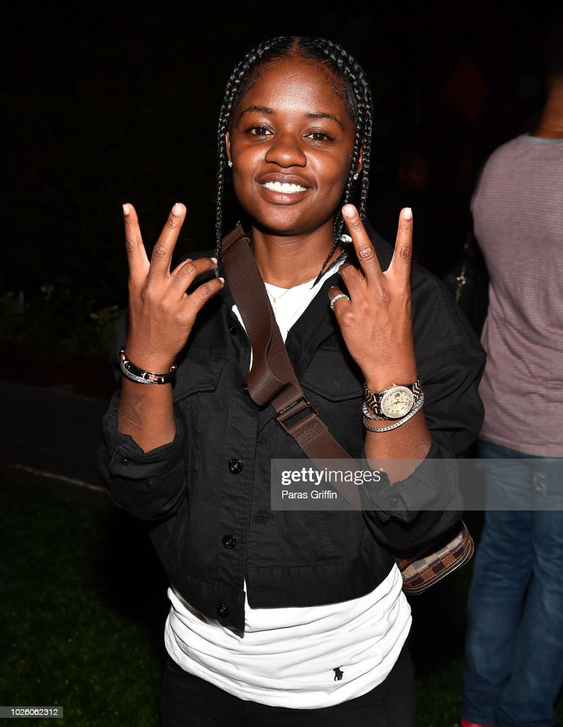 Actress Bre-Z attends The 'Bobby-Q' Atlanta Premiere Of 'The Bobby Brown Story' at Atlanta Contemporary Arts Center on September 1, 2018 in Atlanta, Georgia.
