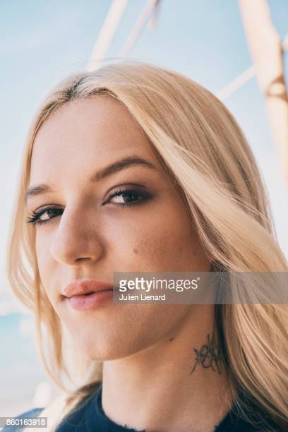 Actress Bria Vinaite is photographed for Self Assignment on May 23 2017 in Cannes France