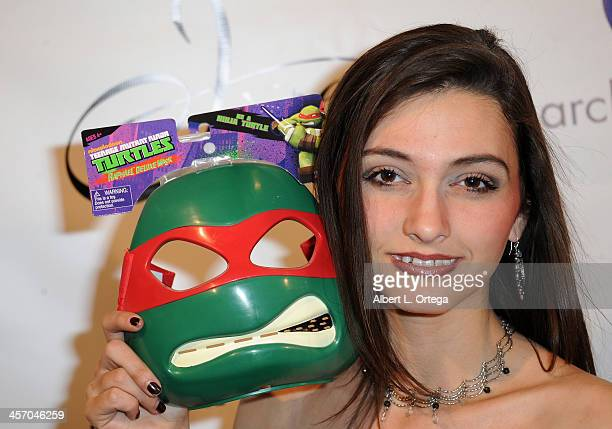 Actress Brialynn Massie attends Britticares Toy Drive with a benefit concert by G Tom Mac Many Of Odd Nature in conjunction with publicist Michael...