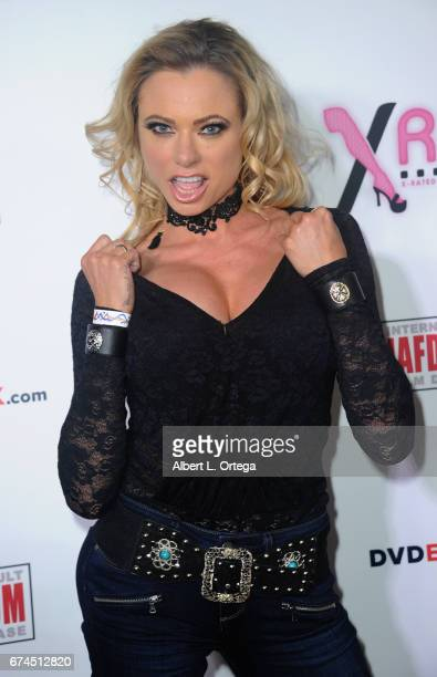 Actress Briana Banks arrives for the 33rd Annual XRCO Awards Show held at OHM Nightclub on April 27 2017 in Hollywood California