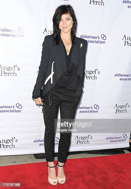 Actress Briana Cuoco arrives at the 'Angel's Perch' West Coast Premiere at Laemmle's Royal Theatre on July 17 2013 in Los Angeles California