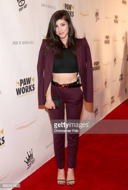 Actress Briana Cuoco attends the James Paw 007 Ties Tails Gala at the Four Seasons Westlake Village on March 10 2018 in Westlake Village California