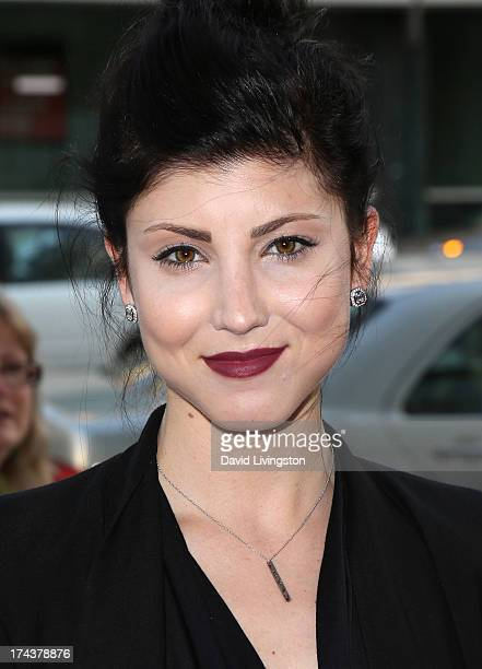 Actress Briana Cuoco attends the premiere of Blue Jasmine hosted by the AFI Sony Picture Classics at the AMPAS Samuel Goldwyn Theater on July 24 2013...