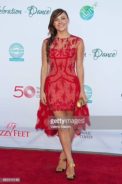 Actress Briana Evigan arrives at the 4th Annual Celebration Of Dance Gala Presented By The Dizzy Feet Foundation at Dorothy Chandler Pavilion on July...