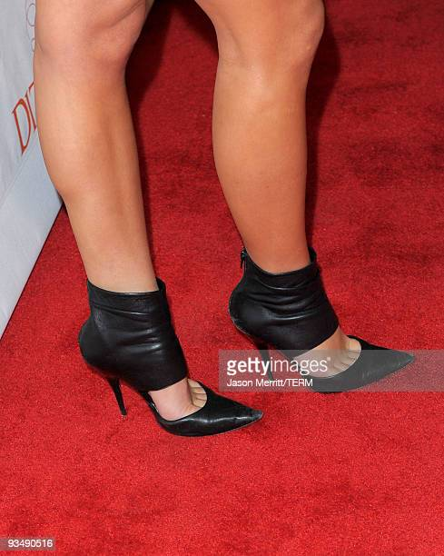 Actress Briana Evigan arrives at the Dizzy Feet Foundation's Inaugural Celebration of Dance at The Kodak Theater on November 29 2009 in Hollywood...