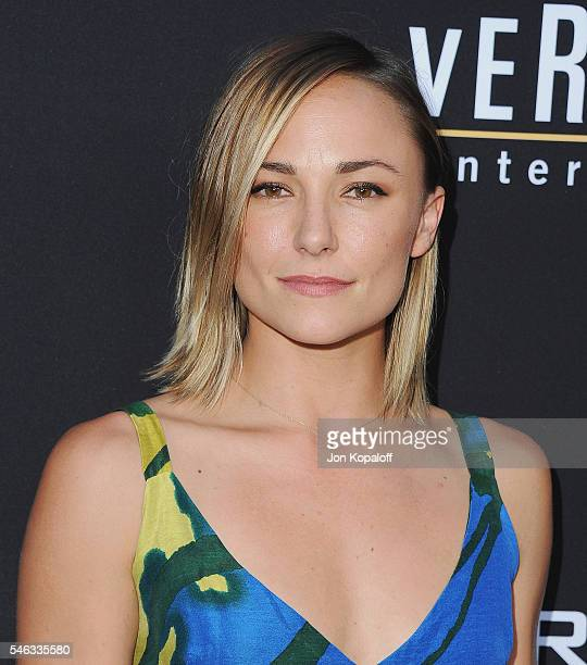 Actress Briana Evigan arrives at the Los Angeles Premiere 'Undrafted' at ArcLight Hollywood on July 11 2016 in Hollywood California