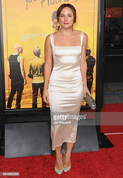 Actress Briana Evigan arrives at the Los Angeles Premiere We Are Your Friends at TCL Chinese Theatre on August 20 2015 in Hollywood California