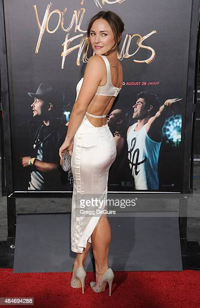 Actress Briana Evigan arrives at the premiere of Warner Bros Pictures' We Are Your Friends at TCL Chinese Theatre on August 20 2015 in Hollywood...