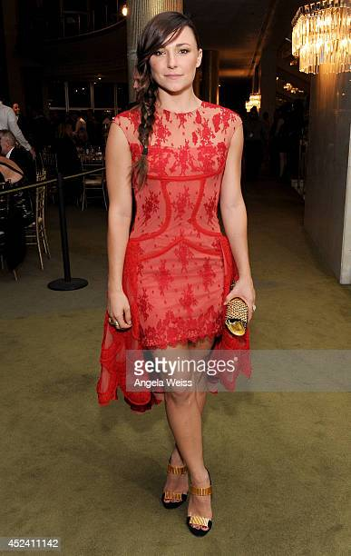 Actress Briana Evigan attends Dizzy Feet Foundation's Celebration Of Dance Gala at The Music Center on July 19 2014 in Los Angeles California