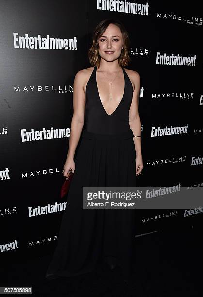 Actress Briana Evigan attends Entertainment Weekly's celebration honoring THe Screen Actors Guild presented by Maybeline at Chateau Marmont on...