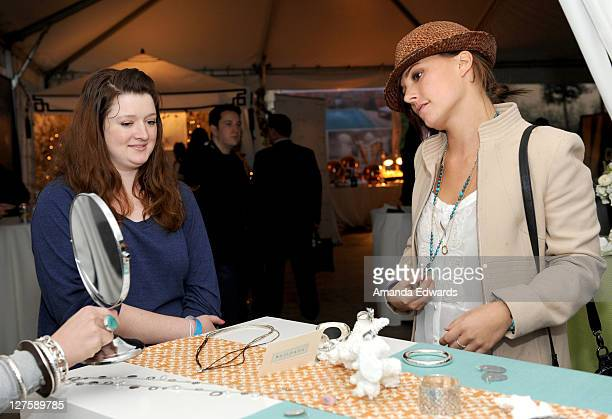 Actress Briana Evigan attends Silpada at Kari Feinstein's Academy Awards Style Lounge at Montage Beverly Hills on February 25 2011 in Beverly Hills...
