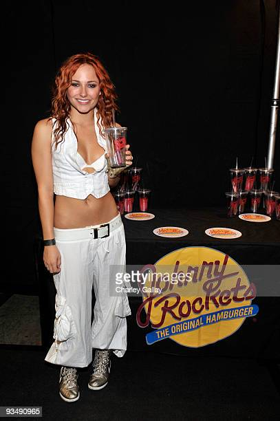 Actress Briana Evigan attends the Dizzy Feet Foundation's Inaugural Celebration of Dance at The Kodak Theater on November 29 2009 in Hollywood...