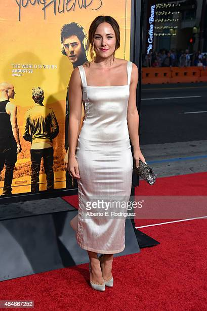 Actress Briana Evigan attends the premiere of Warner Bros Pictures' We Are Your Friends at TCL Chinese Theatre on August 20 2015 in Hollywood...