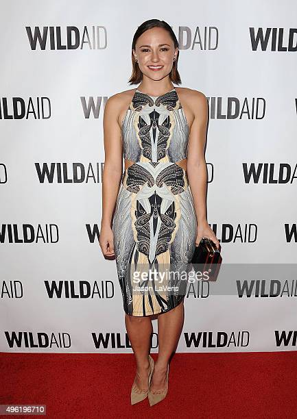 Actress Briana Evigan attends WildAid 2015 at Montage Hotel on November 7 2015 in Beverly Hills California