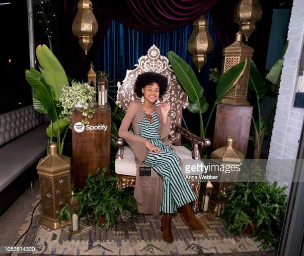 Actress Briana Roy attends Spotify Honors Black Female Creatives For Black History Is Happening Now Campaign on October 22 2018 in Santa Monica...