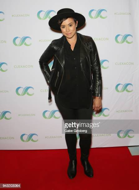 Actress Briana Venskus attends the Cocktails for Change fundraiser hosted by ClexaCon to benefit Cyndi Lauper's True Colors Fund at the Tropicana Las...