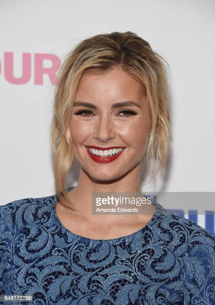 Actress Brianna Brown arrives at the 6th Annual Women Making History Awards at The Beverly Hilton Hotel on September 16 2017 in Beverly Hills...