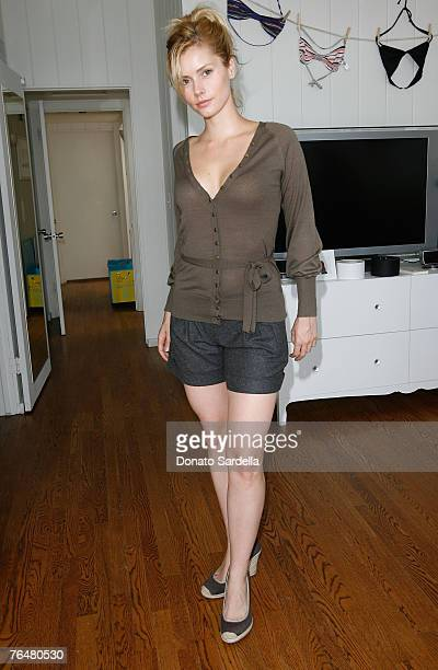 Actress Brianna Brown attend French Connection Styling Event at The French Connection Beach House In Malibu California September 12007