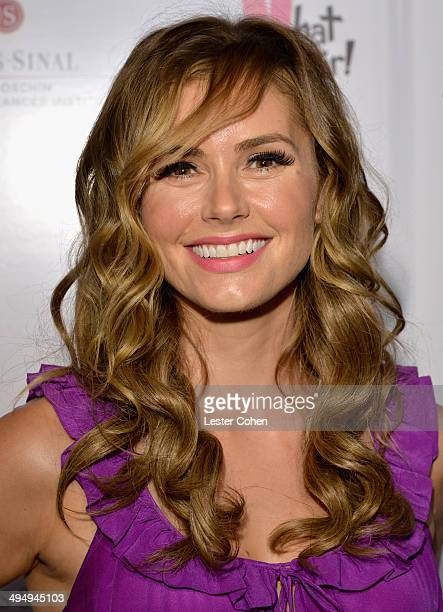 Actress Brianna Brown attended the What A Pair Benefit Concert to support breast cancer research education programs at the CedarsSinai Samuel Oschin...