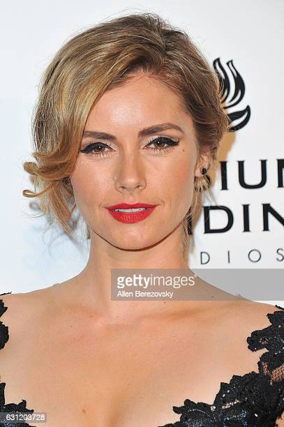 Actress Brianna Brown attends Stevie Wonder's HEAVEN 10th Anniversary celebration presented by The Art of Elysium at Red Studios on January 7 2017 in...