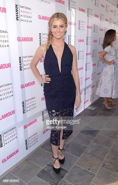 Actress Brianna Brown attends the 4th Annual Women Making History Brunch presented by the National Women's History Museum and Glamour Magazine at...